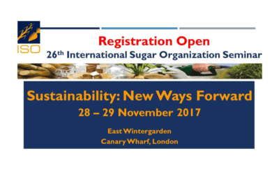 26th International Sugar Organization Seminar –  28th – 29th November 2017