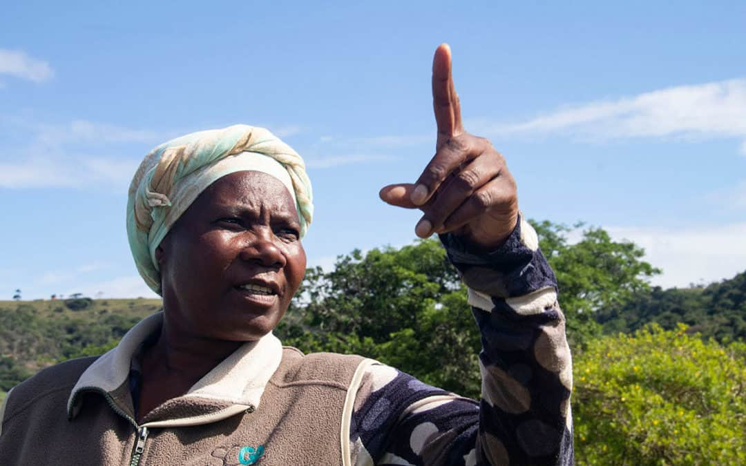 Prominent sugarcane leader puts her land and community first