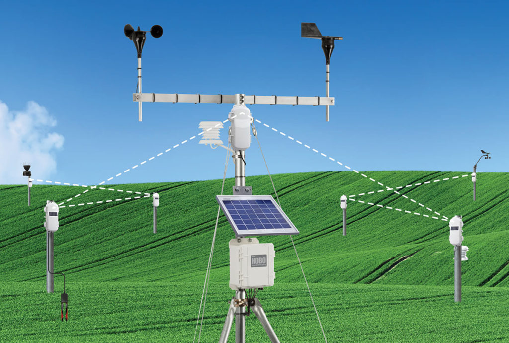 Remote wind speed and direction SmartSensor
