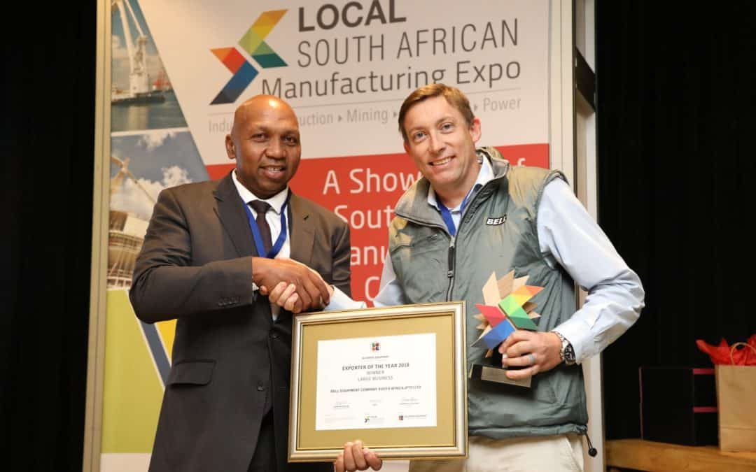 Bell brings home Exporter of the Year awards