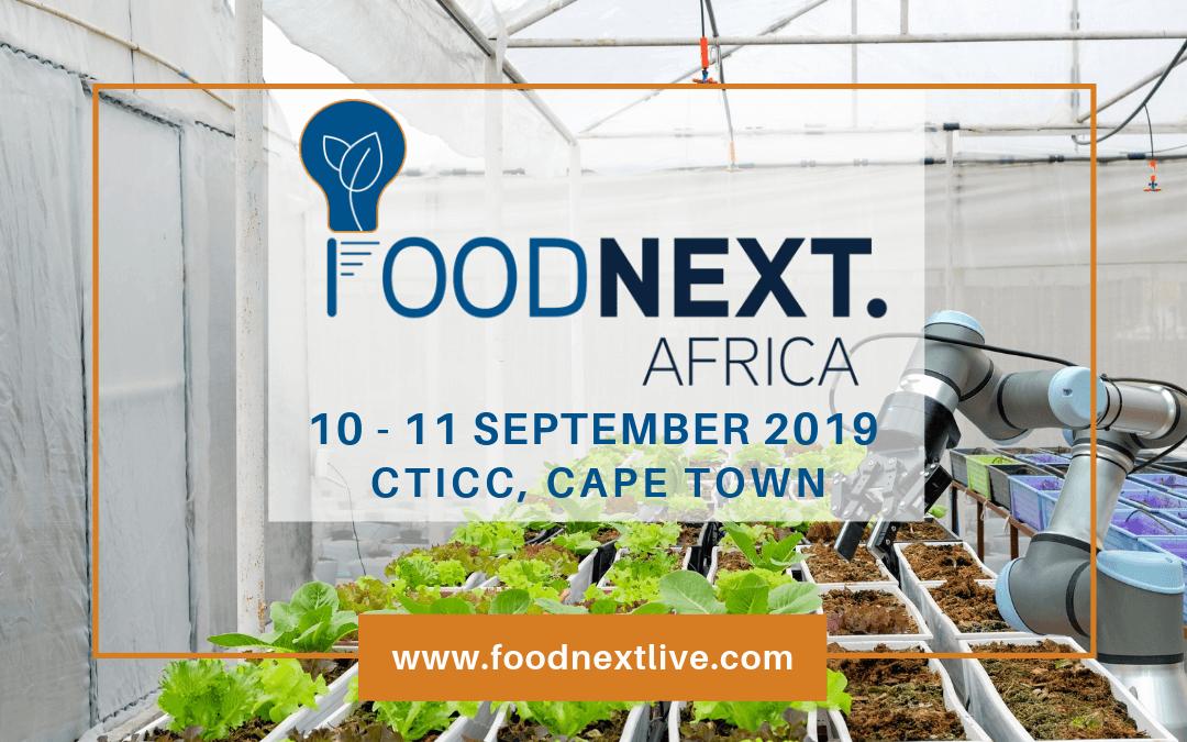 FoodNext.Africa | CTICC, Cape Town | 10 – 11 September 2019