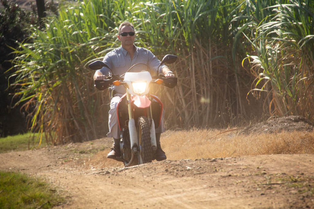 Chairman of SA Canegrowers Rex Talmage on the Talmage family sugarcane farm, Baton Rouge Estates, just a stone's throw from the Amatikulu Mill in northern KwaZulu-Natal.